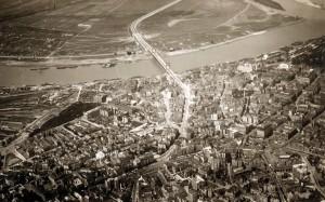 Beograd sa mostom Kralja Aleksandra 1935-36