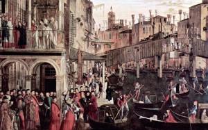 Rialto u Veneciji na Karpacovoj slici