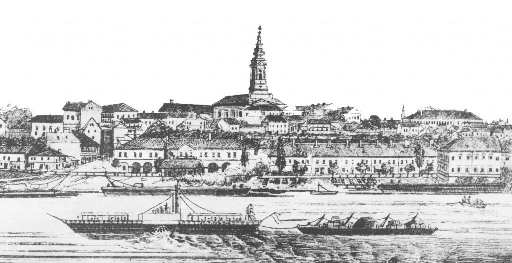 1-pogled-na-priobalje-sa-sabornom-crkvom-u-centru-polovina-xix-veka