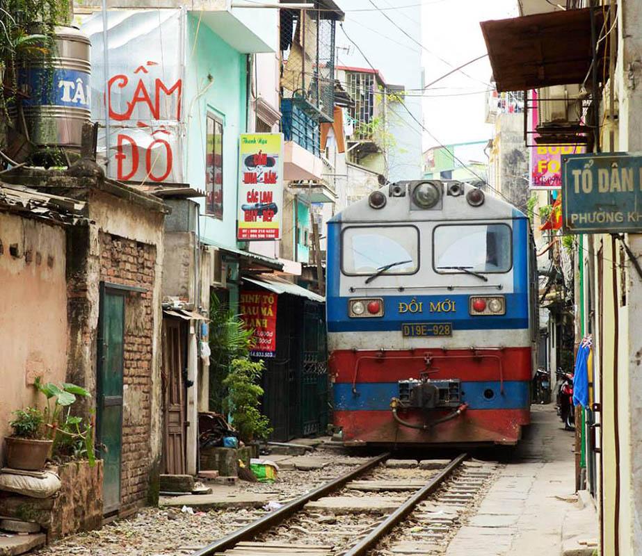 Koegzistencija pruge i stanovanja