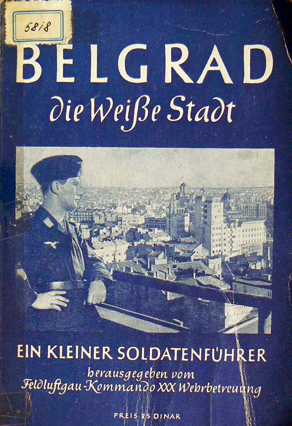 Vodič za nemačke vojnike u Beogradu